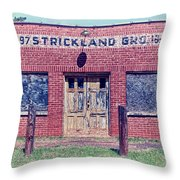 Strickland Grocery Throw Pillow