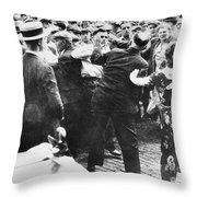 Strike: Toledo, Ohio, 1934 Throw Pillow