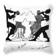 String Quartet, C1935 Throw Pillow