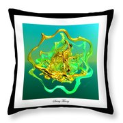 String Theory D Throw Pillow