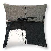 Strip Tease Throw Pillow