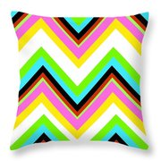 Stripe Throw Pillow by Louisa Knight