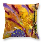 Strokes Of Love Throw Pillow