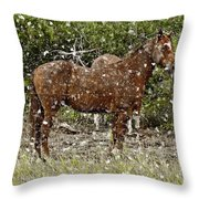 Strong Always Throw Pillow