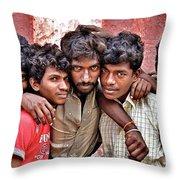 Strong Bonds Throw Pillow
