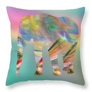 Strong Impression Throw Pillow