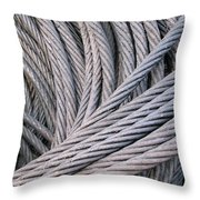 Strong Wire Rope Throw Pillow