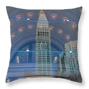 Toy Building Throw Pillow