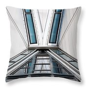 Structure Reflections Throw Pillow