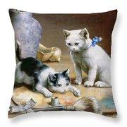 Studio Assistants Throw Pillow