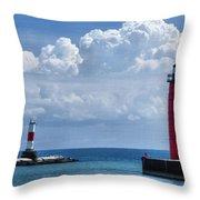 Studio Lighthouse Throw Pillow