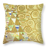 Study For Expectation Throw Pillow