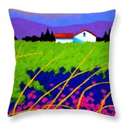 Study For Provence Painting Throw Pillow