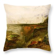 Study For The Last Judgement Throw Pillow