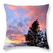 Stunning Spring Sky Throw Pillow