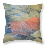 Submergence Throw Pillow