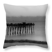 Subtle Pier Throw Pillow