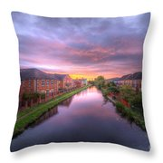 Suburban Sunrise 1.0 Throw Pillow