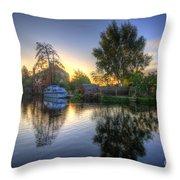 Suburban Sunrise 2.0 Throw Pillow