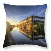 Suburban Sunrise 4.0 Throw Pillow