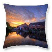 Suburban Sunrise 5.0 Throw Pillow