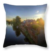 Suburban Sunrise 6.0 Throw Pillow