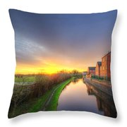 Suburban Sunrise 8.0 Throw Pillow