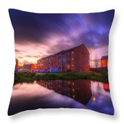 Suburban Sunset 1.0 Throw Pillow
