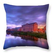 Suburban Sunset 2.0 Throw Pillow