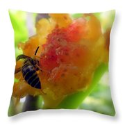 Succulent Fig Throw Pillow