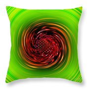 Sucked In... Throw Pillow