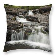 Sucker River Falls 2 G Throw Pillow