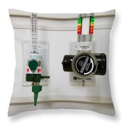 Suction Unit Throw Pillow