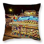 Sugar Babes 2 Lake County Fair Throw Pillow