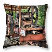 Sugar Cane Mill Throw Pillow by Tamyra Ayles
