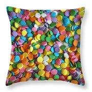 Sugar Confetti Throw Pillow