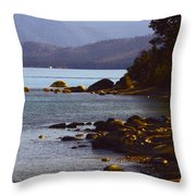 Sugar Pine Point Beach Throw Pillow