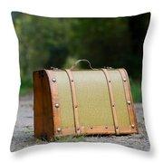 Suitcase Throw Pillow
