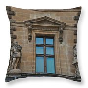 Sully And Vauban Throw Pillow