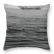 Summer At Lake Mead Throw Pillow