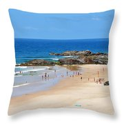 Summer At Port Macquarie Throw Pillow