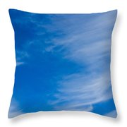 Summer Cloud Images Throw Pillow
