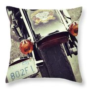 Summer Fever Throw Pillow