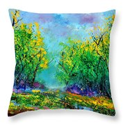 Summer In The Wood 452160 Throw Pillow