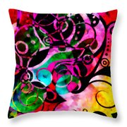 Summer Introspection Of An Extrovert Triptych Vertical Throw Pillow