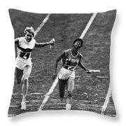 Summer Olympics, 1960 Throw Pillow