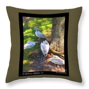 Summer Relaxin Throw Pillow
