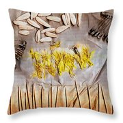 Summer Stay In My Secret Garden Throw Pillow