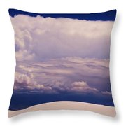 Summer Storms Over The Mountains 2 Throw Pillow
