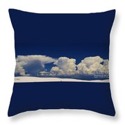 Summer Storms Over The Mountains 3 Throw Pillow